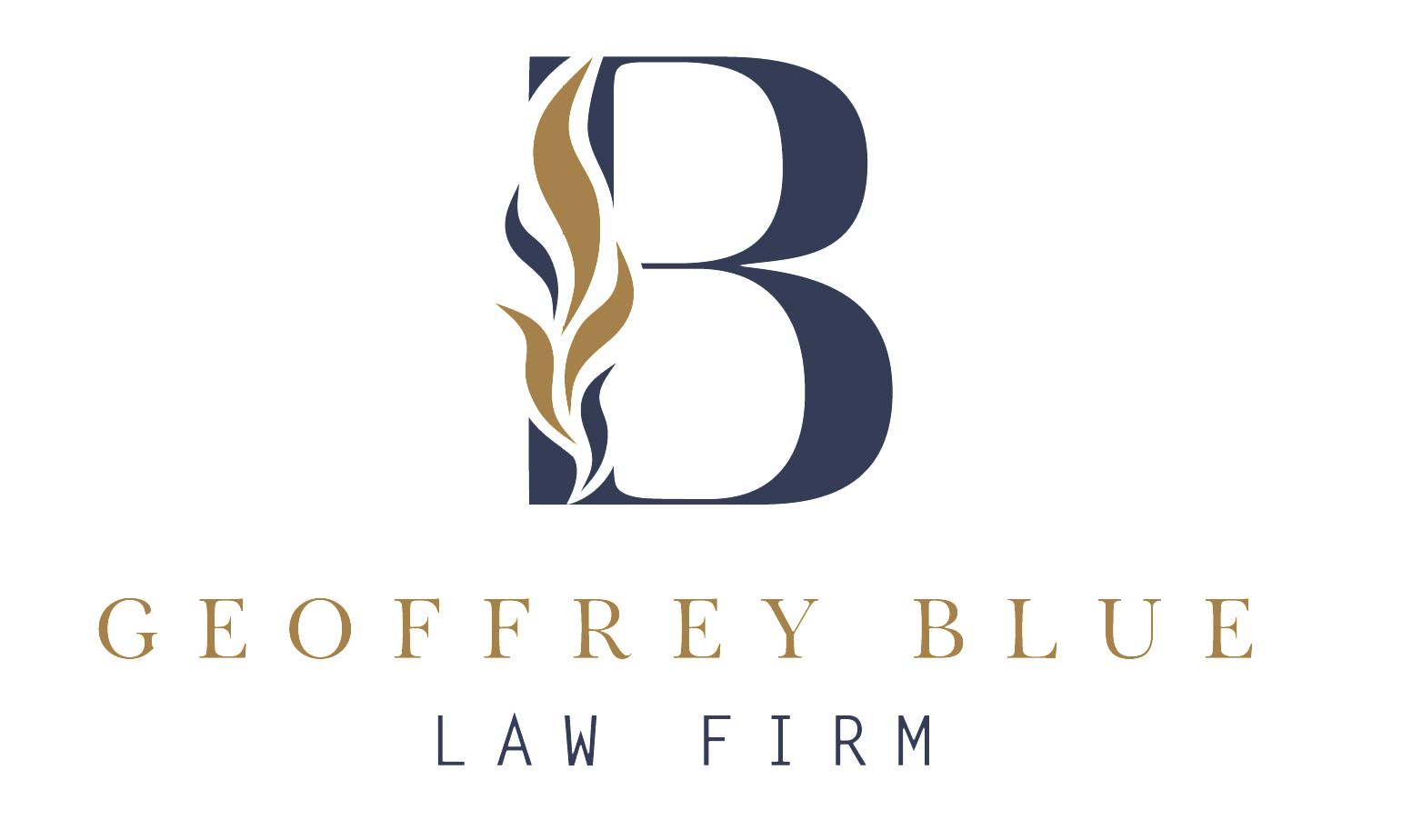 Geoffrey Blue Law Firm logo