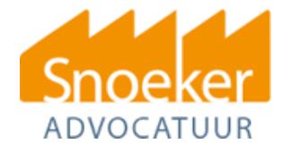 Snoeker Advocatuur logo