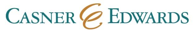Casner & Edwards, LLP logo