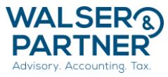 Walser & Partner AG logo