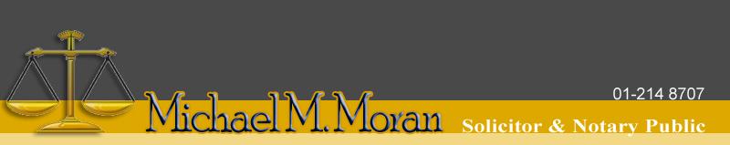 Michael M. Moran, Solicitor & Notary Public logo