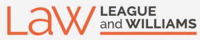 League and Williams logo