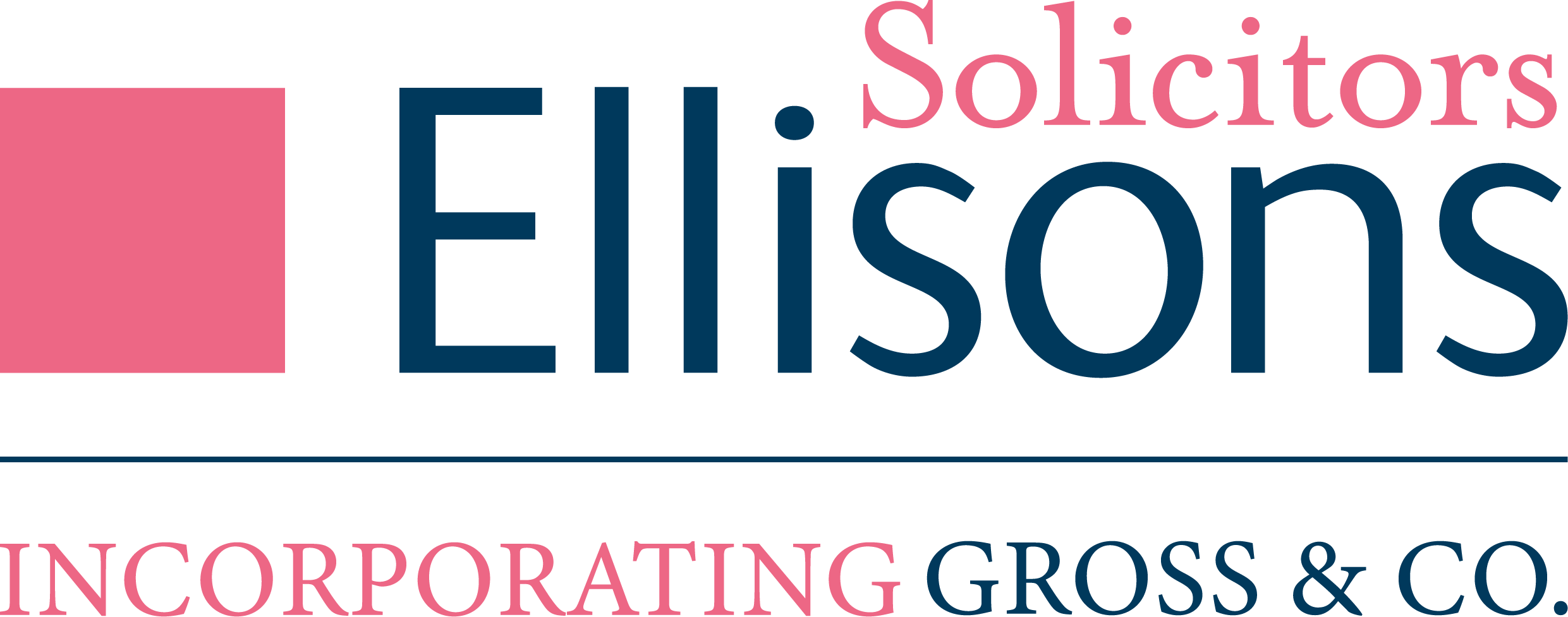 Ellisons Solicitors incorporating Gross & Co. logo