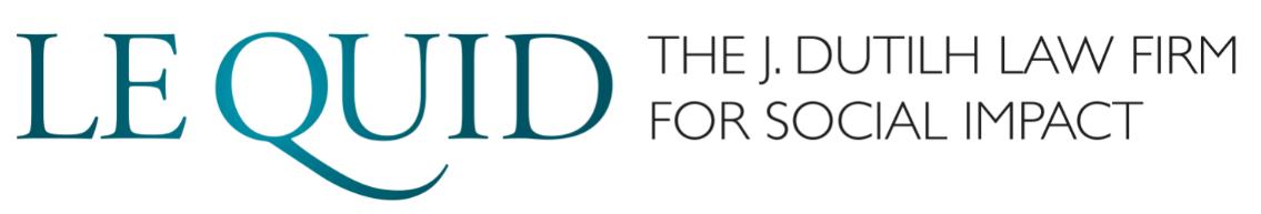 LeQuid, The J.Dutilh Law Firm For Social Impat logo