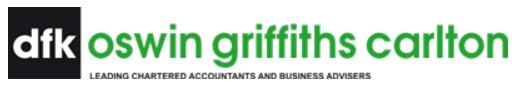 DFK Oswin Griffiths Carlton logo