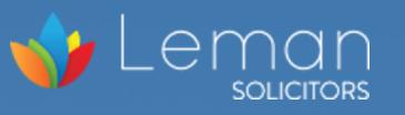 Leman Solicitors logo