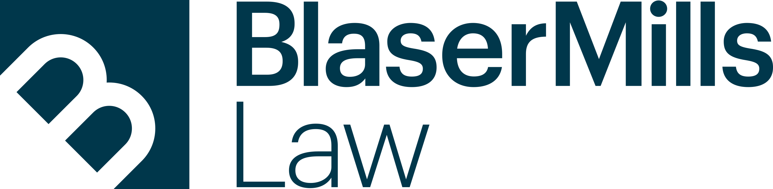 Blaser Mills Law logo