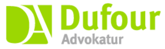 DUFOUR – Advokatur logo
