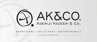 Adeniji Kazeem & Co. logo
