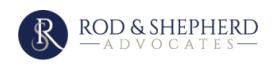 Rod & Shepherd Advocates logo