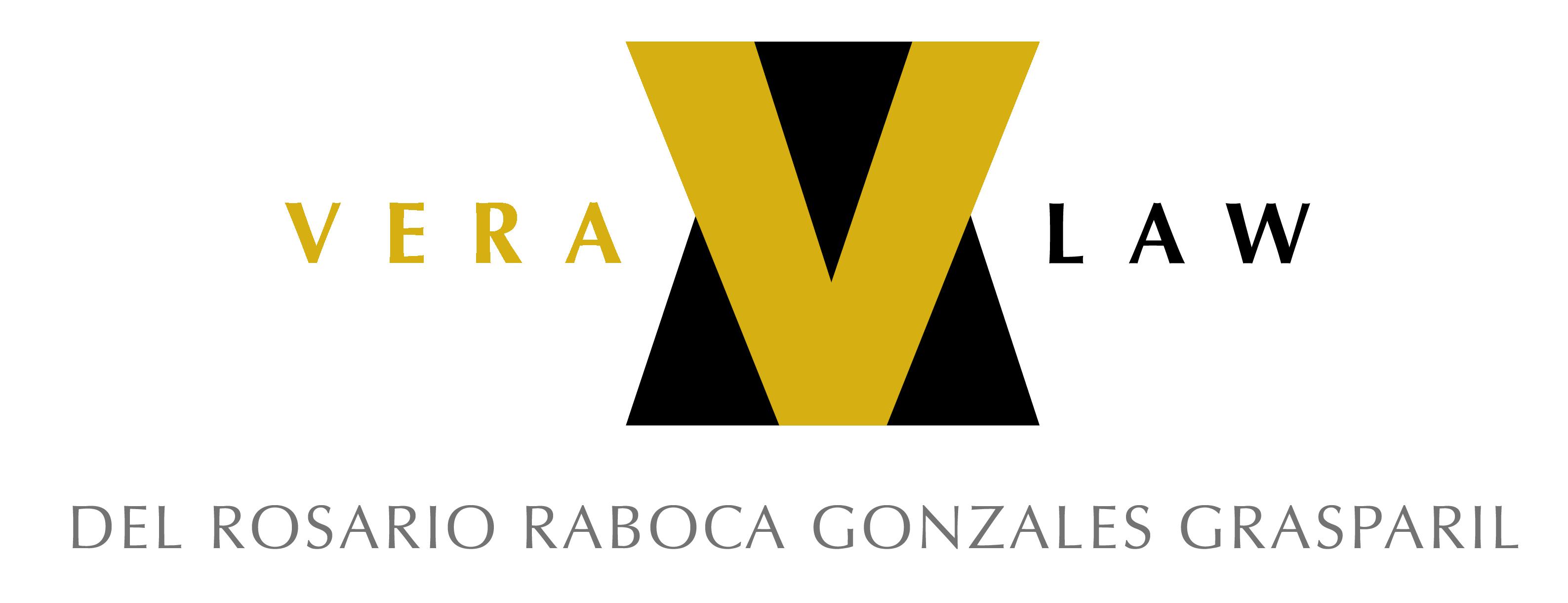 Vera Law (Del Rosario Raboca Gonzales Grasparil) logo