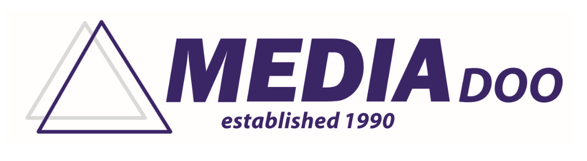 MEDIA DOO (ltd) logo