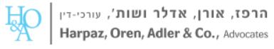 Harpaz, Oren, Adler & Co. logo