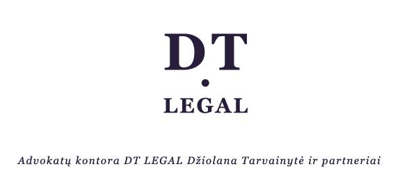 DT LEGAL logo