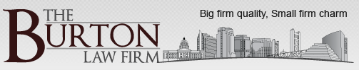 The Burton Law Firm logo