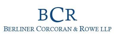 Berliner, Corcoran & Rowe, LLP logo