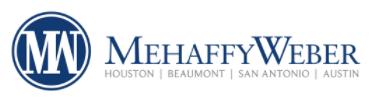 MehaffyWeber logo