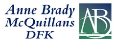 Anne Brady McQuillans DFK logo
