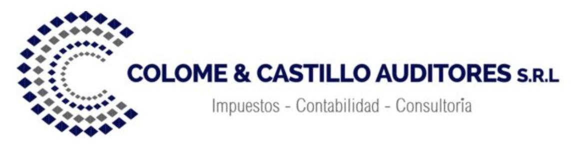 Colomé & Castillo Auditores, S. R. L. logo