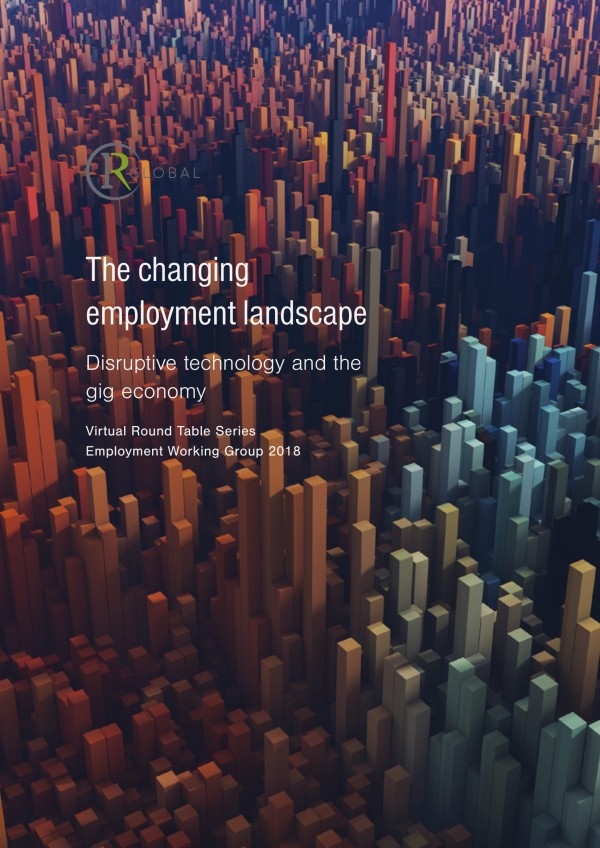 The changing employment landscape - Disruptive technology and the gig economy