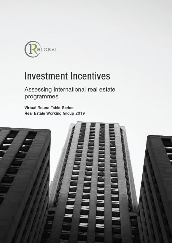 Investment Incentives - Assessing international real estate programmes