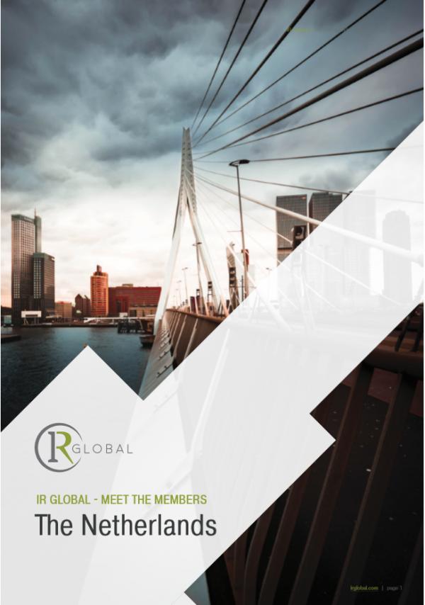 IR Global - Meet the Members - The Netherlands