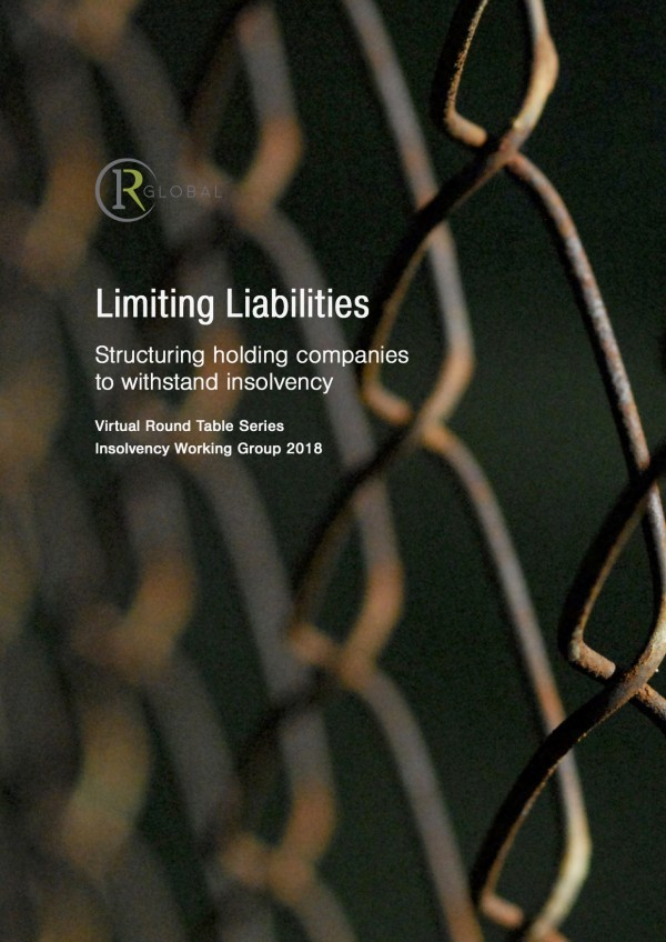 Limiting Liabilities - Structuring holding companies to withstand insolvency