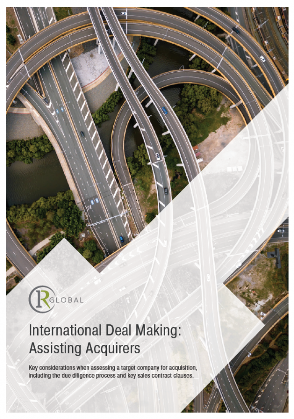 International Deal Making: Assisting Acquirers