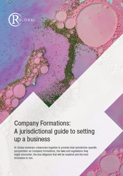 Company Formations: A jurisdictional guide to setting up a business