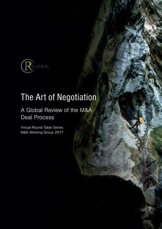 The Art of Negotiation - A Global Review of the M&A Deal Process