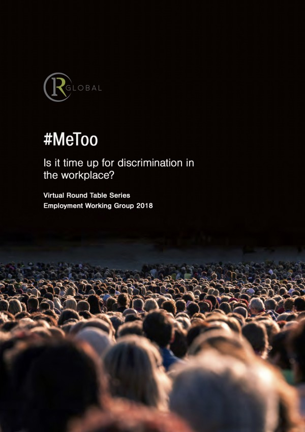 #MeToo - Is it time up for discrimination in the workplace?