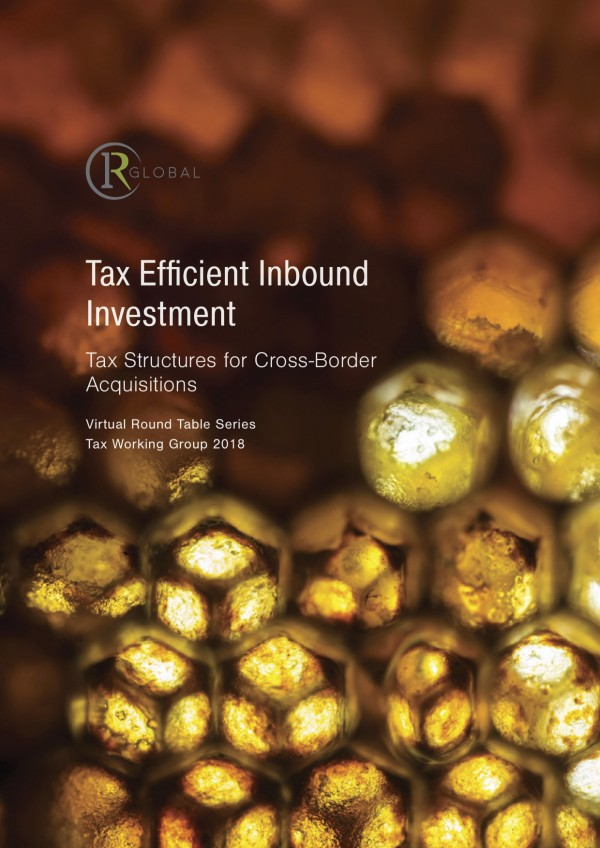 Tax Efficient Inbound Investment - Tax Structures for Cross-Border Acquisitions
