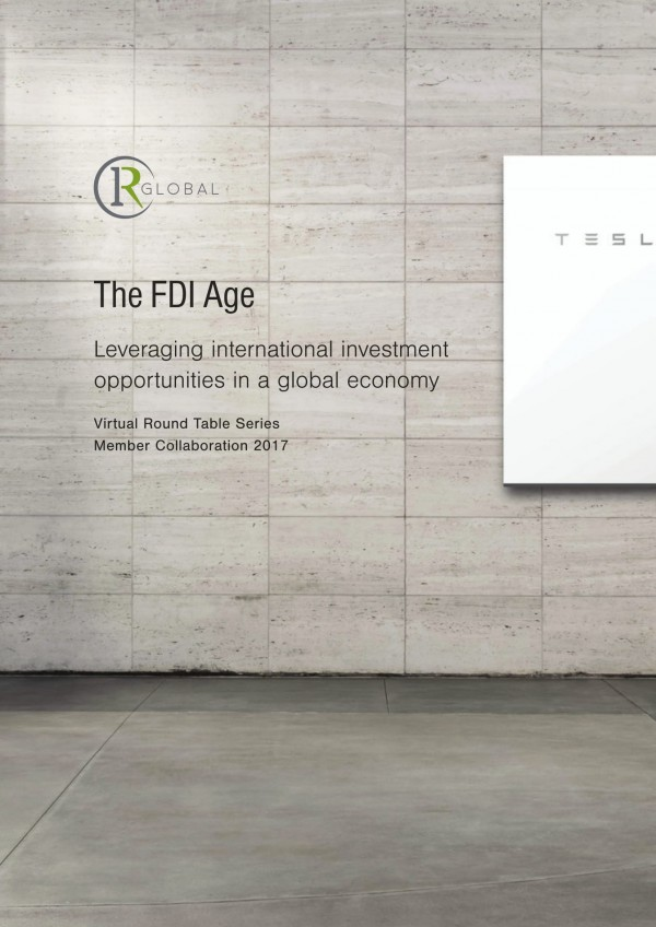 The FDI Age - Leveraging international investment opportunities in a global economy