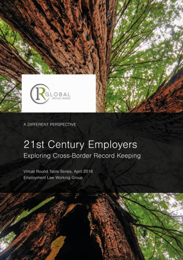 21st Century Employers - Exploring Cross-Border Record Keeping