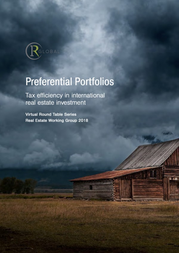 Preferential Portfolios - Tax efficiency in international real estate investment